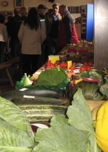 Village veg at Llansawel Show